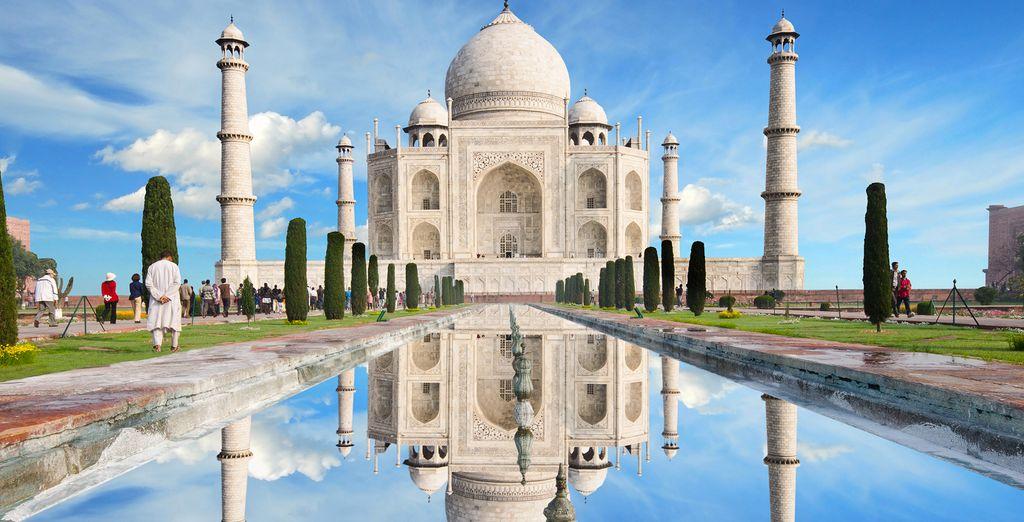 visit Taj mahal, Agra
