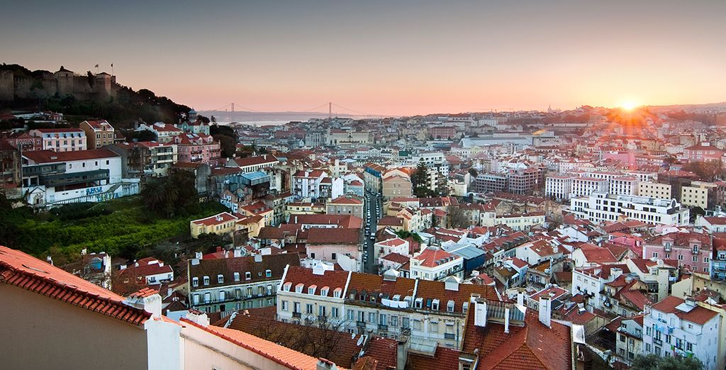 Next it's Portugal's cosmopolitan capital, Lisbon