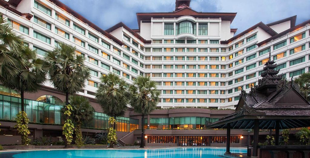 Stay in a range of high quality accommodation (Sedona Hotel Yangon)