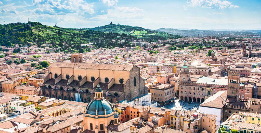 In historic Bologna