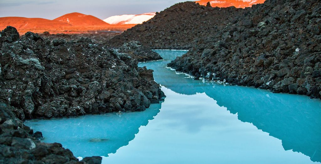 Sink into the calming Blue Lagoon
