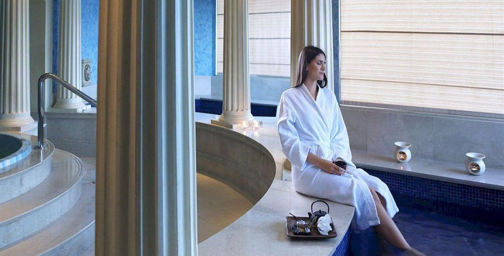Relax with your 30% discount on Spa Treatments