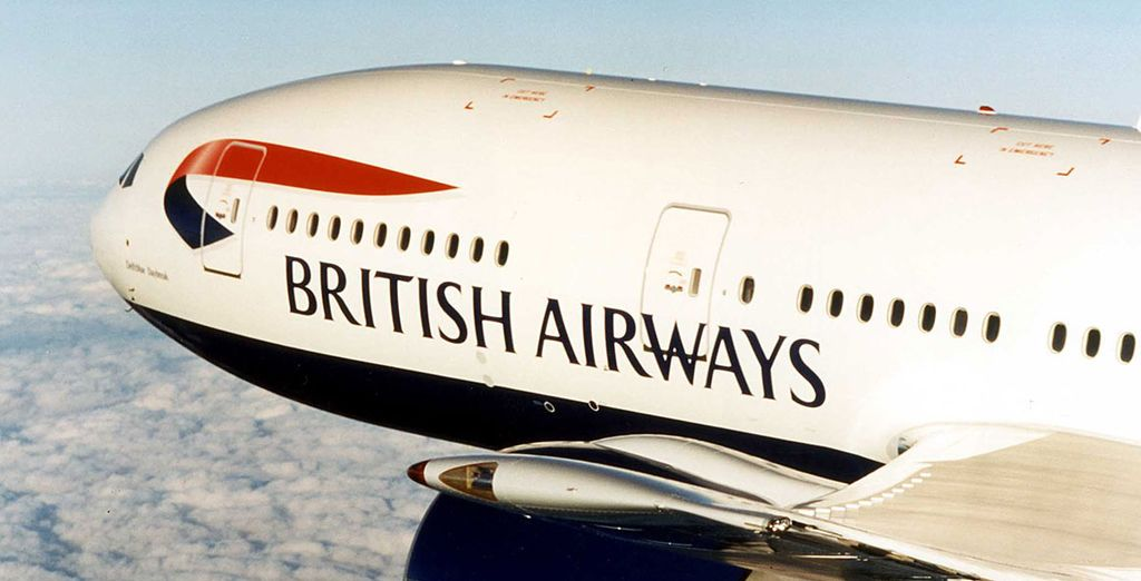 Flights are with British Airways!