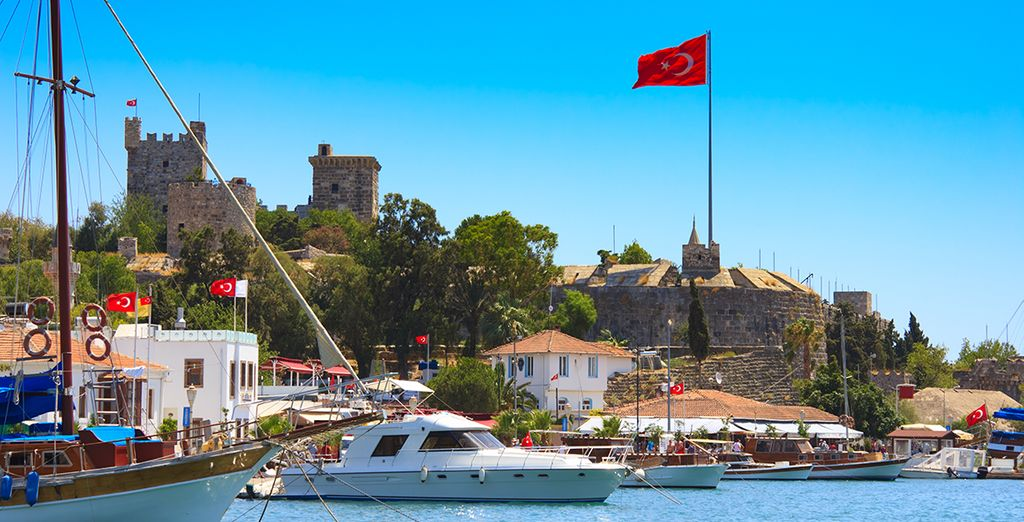 Be sure to visit Bodrum's picturesque port