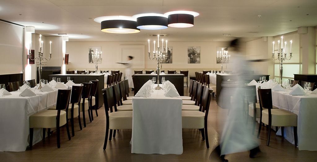 Step inside Brasserie FLO and you enter an authentic Parisian brasserie