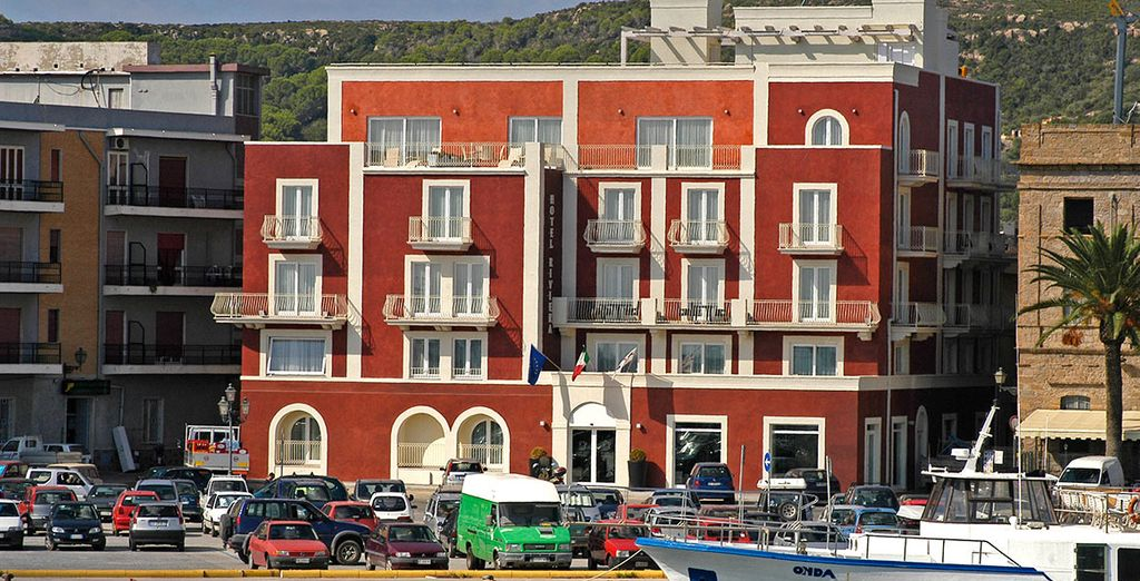 Stay at this perfectly located hotel in Carloforte - Hotel Riviera**** - Carloforte - Sardinia  Carloforte