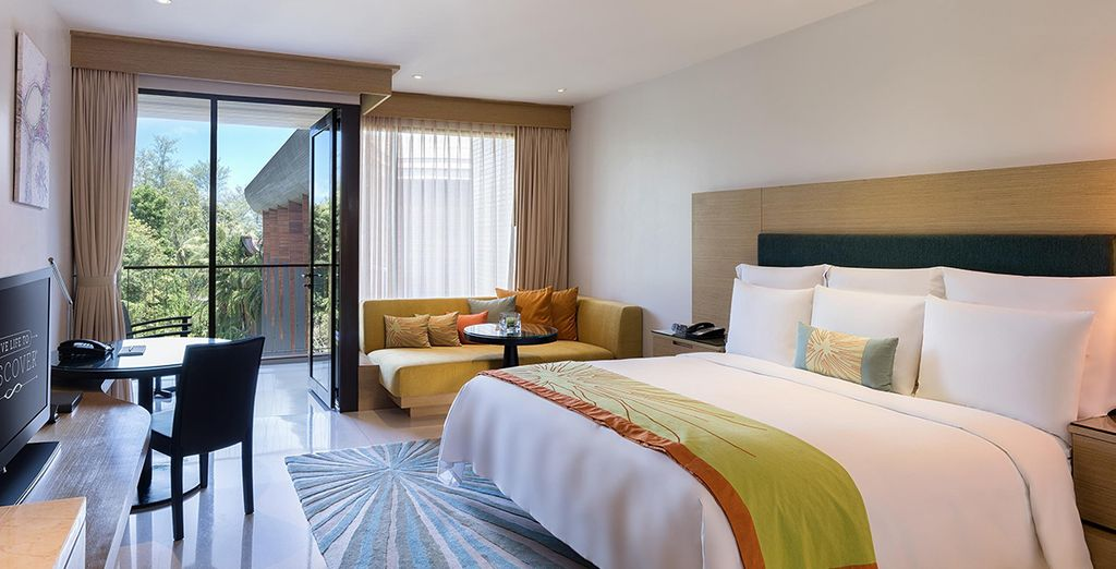 Choose between a stay in a R Deluxe Room