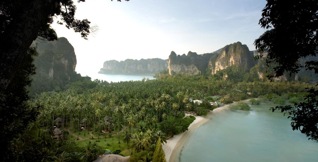In Krabi, on the western coast of southern Thailand