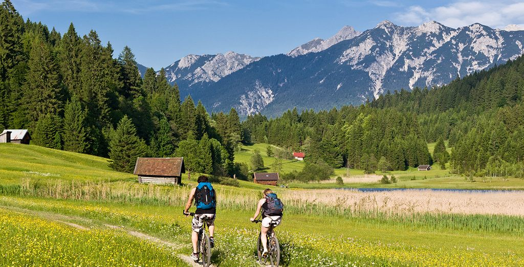 Activities in the area include cycling, hiking and golf