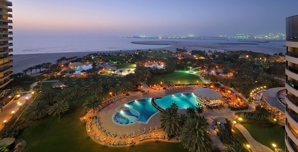 At the 5* Le Meridien Beach Resort & Spa