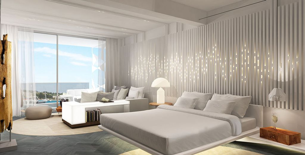 Luxx room with sea view