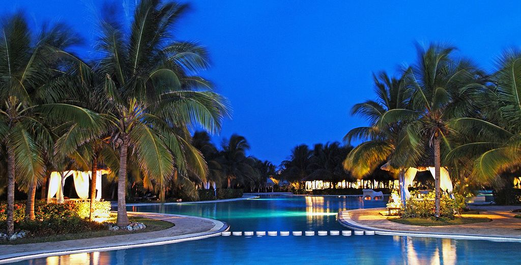With a stay at the Paradisus Varadero Resort for 8 nights
