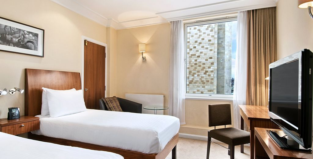 Stay at the Caledonian Hotel in a Classic Room
