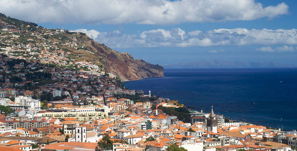 Then you're off to Funchal for 4 nights - Madeira's capital