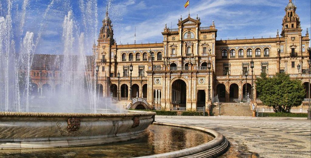 Head out to see beautiful Seville