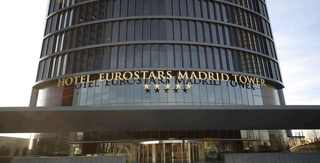 at the amazing Eurostars Madrid Tower Hotel*****