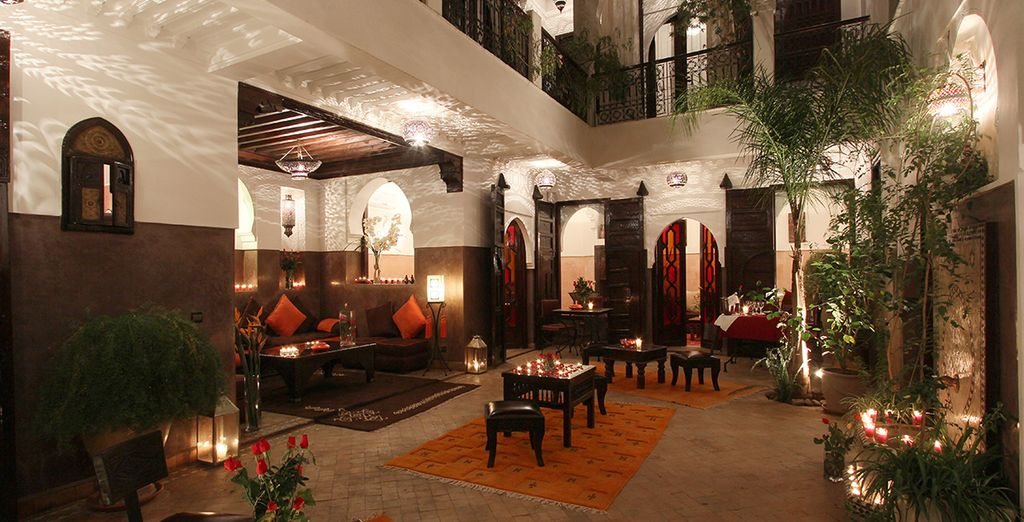 A spacious Riad in the heart of Marrakech...