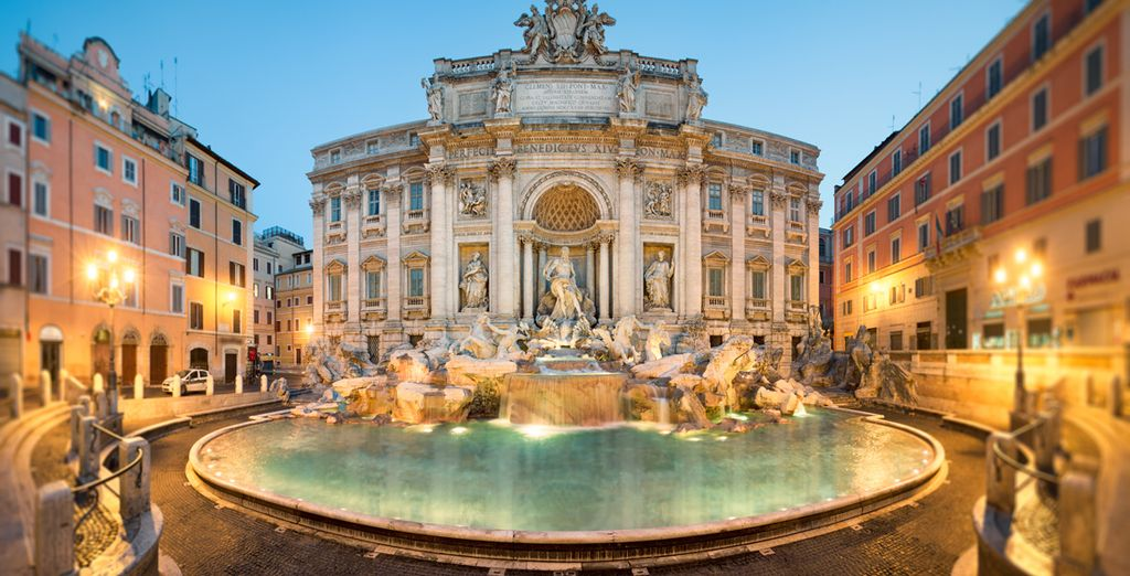 A city brimming with archaic beauty - Berg Luxury Hotel 4* Rome