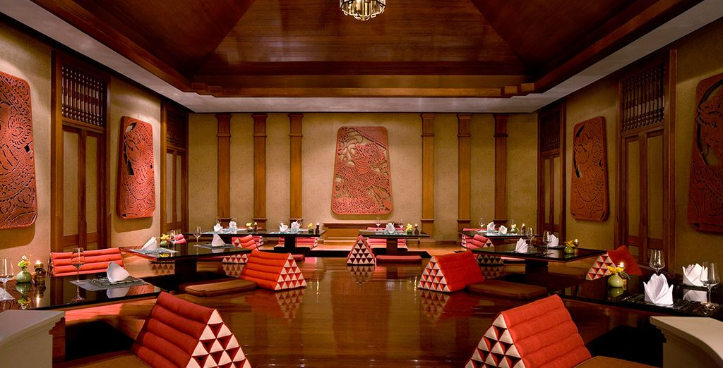And half board dining