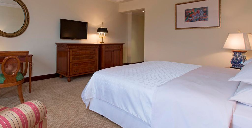 Where you will enjoy a Deluxe Room