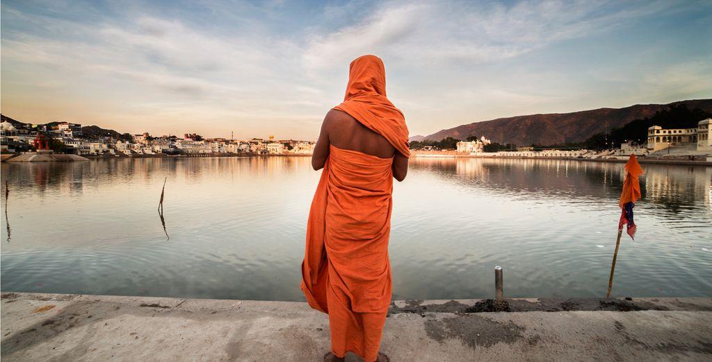 Next, discover lake rituals in Pushkar