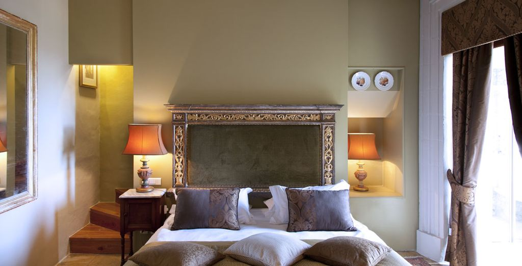 Fantastic style adorns the hotel