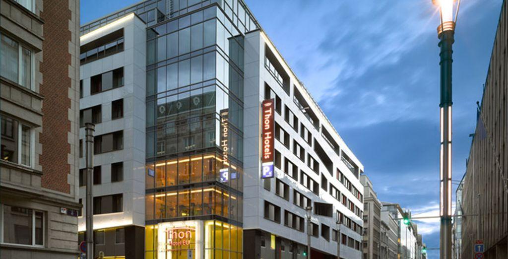 Thon Hotel EU**** - Thon Hotel EU 4* Brussels