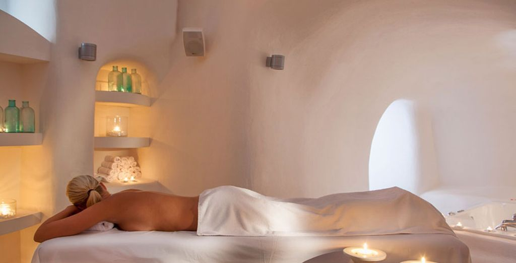 Make use of your free massage and reach your true state of relaxation