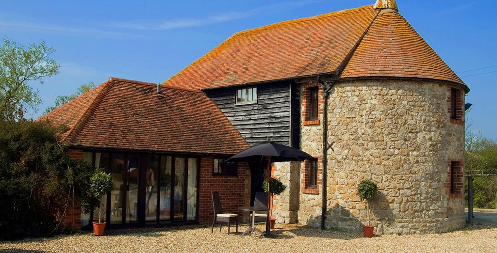 Stay in an idyllic converted oast - Frasers Coldharbour Farm 4* Kent