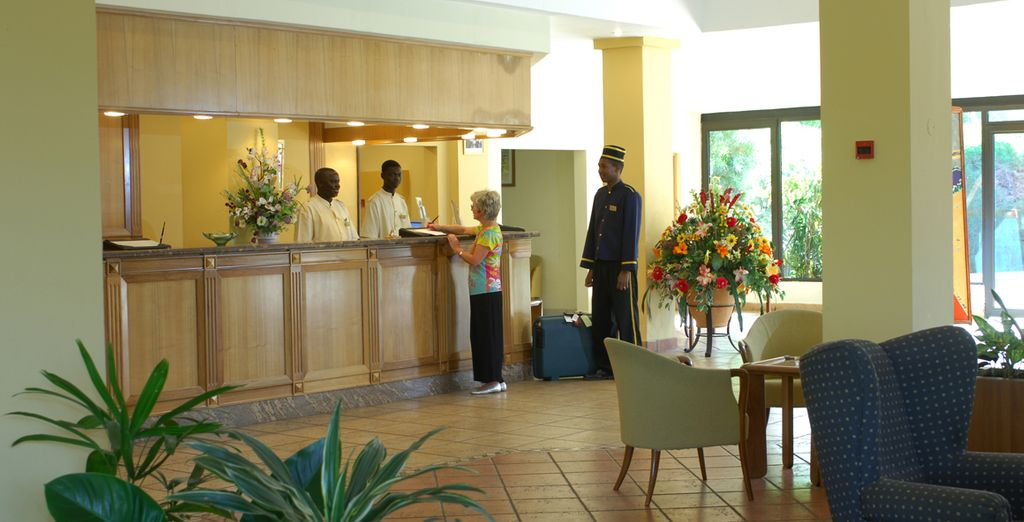Where you will be treated to superb service - The Kairaba Hotel 5* Kololi