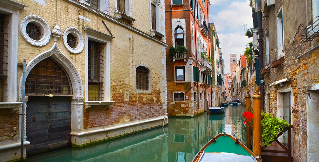 Explore the winding canals of this charming city