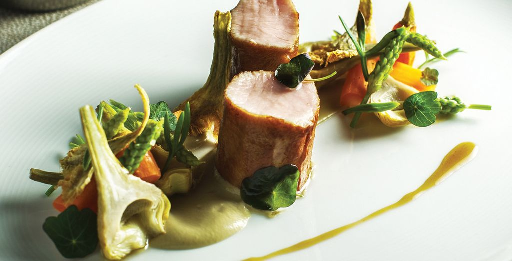 Savour the flavours of gourmet food by top class chefs