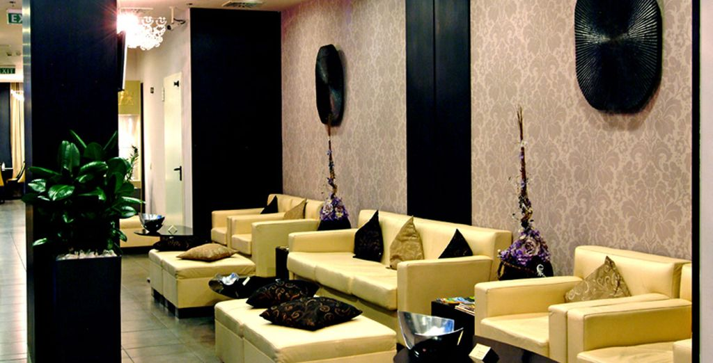 In a small and stylish boutique hotel - Zara Boutique Hotel 4* Budapest
