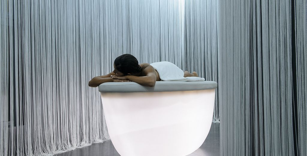 Unwind at the spa with a free floating room session