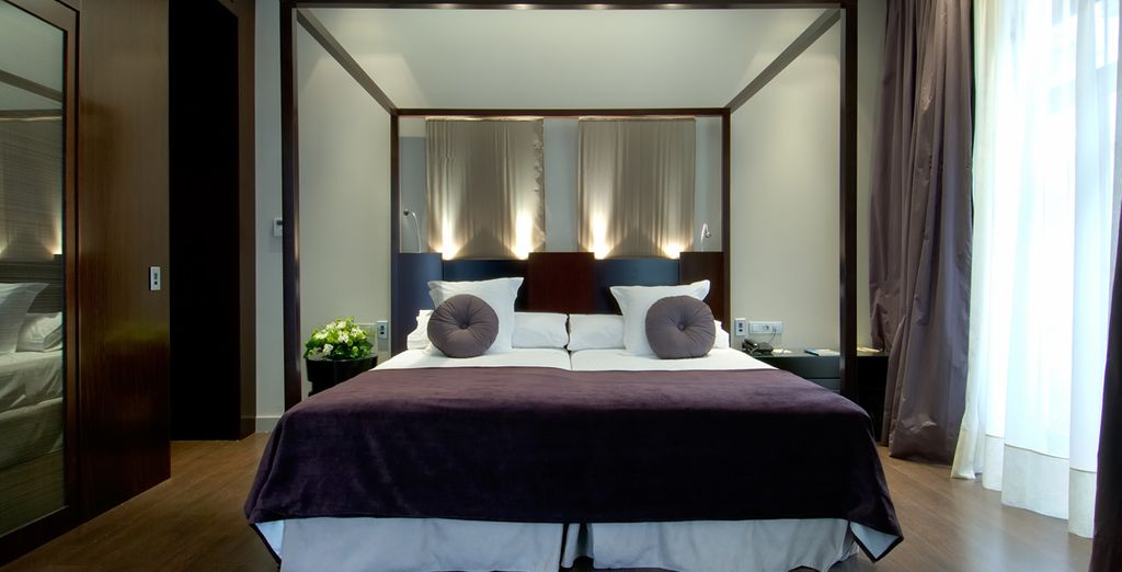 Where you will stay in a luxurious Superior Room