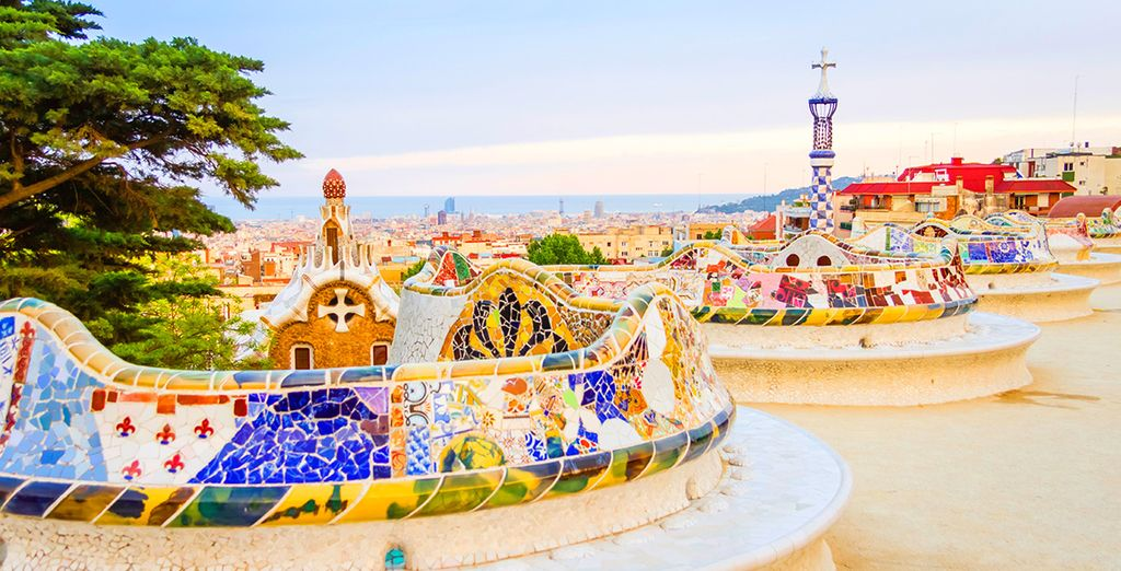 And marvel at the beauty of Barcelona