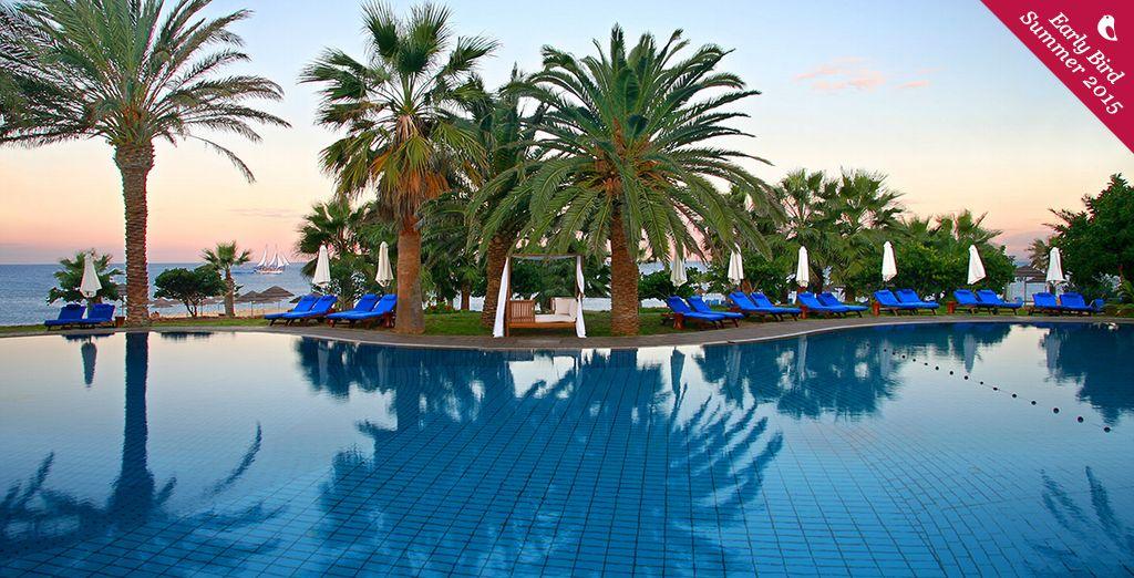 Enjoy a beautiful Cypriot spa retreat - Azia Resort & Spa 5* Paphos