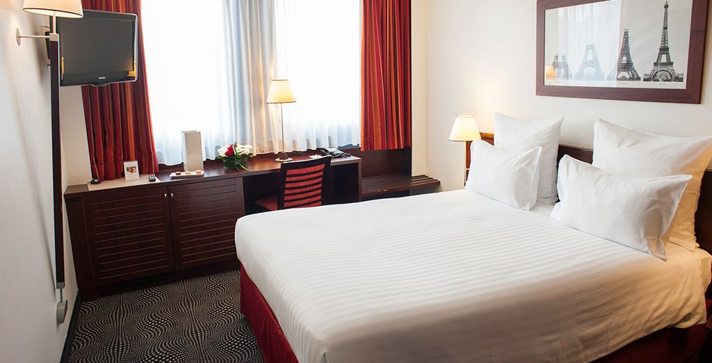 Your spacious Superior Room