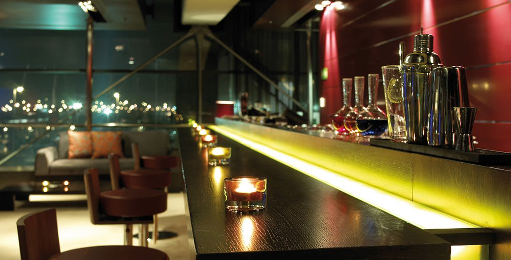 After a day's sightseeing, head to one of the stylish bars...