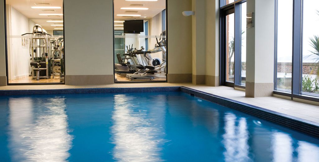 And fantastic luxury facilities including a spa and indoor pool