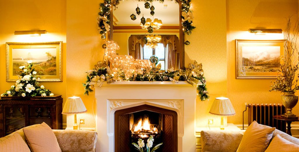 Warm up by the fire for the perfect cosy break away
