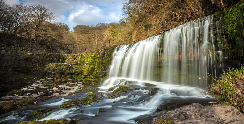 This is a great base for exploring the stunning countryside, such as the Brecon Beacons