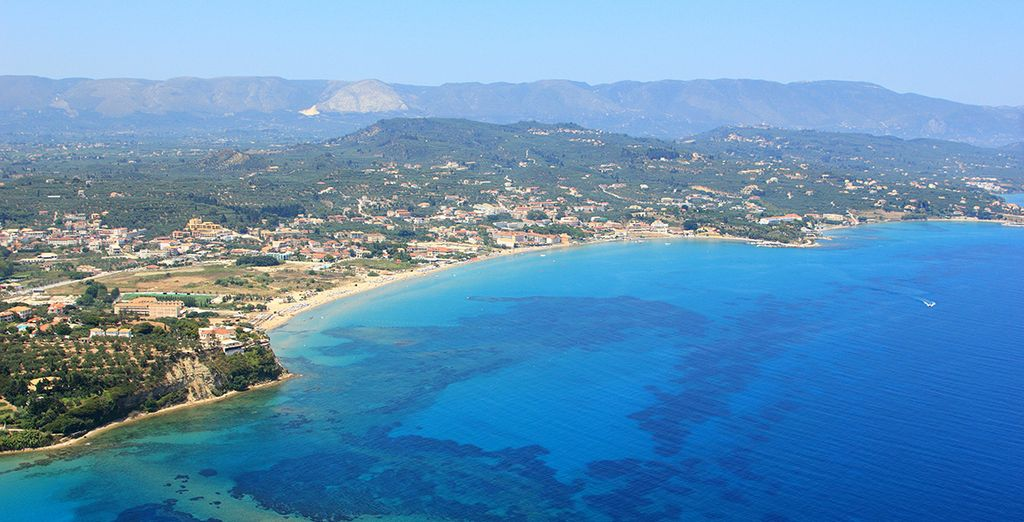 Then head out to explore beautiful coast of Zante