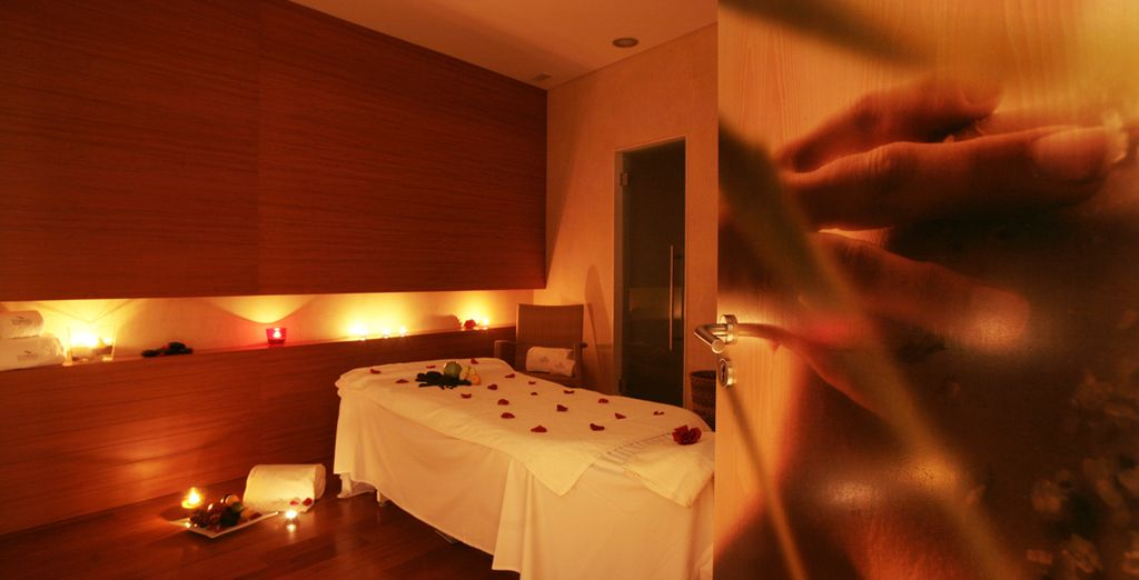 Or unwind completely at the spa, where you have free access