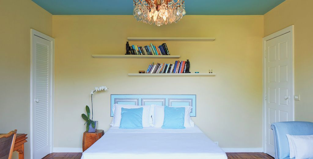Or the spacious and cool Tiffany Room...