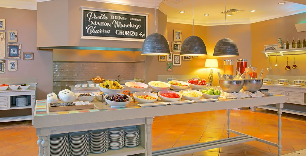 Plus dine in first class restaurants