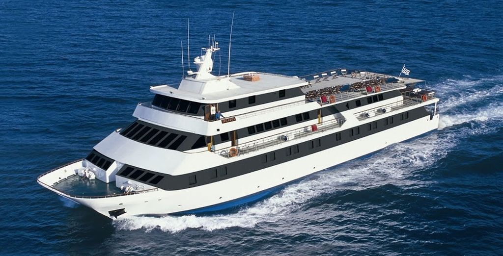 Discover all this from your mega yacht, Pegasus