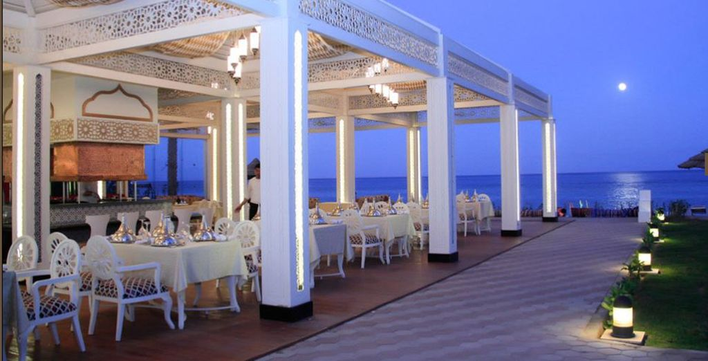 And enjoy all inclusive dining