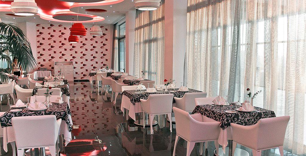 Each boasting its own unique decor and menu