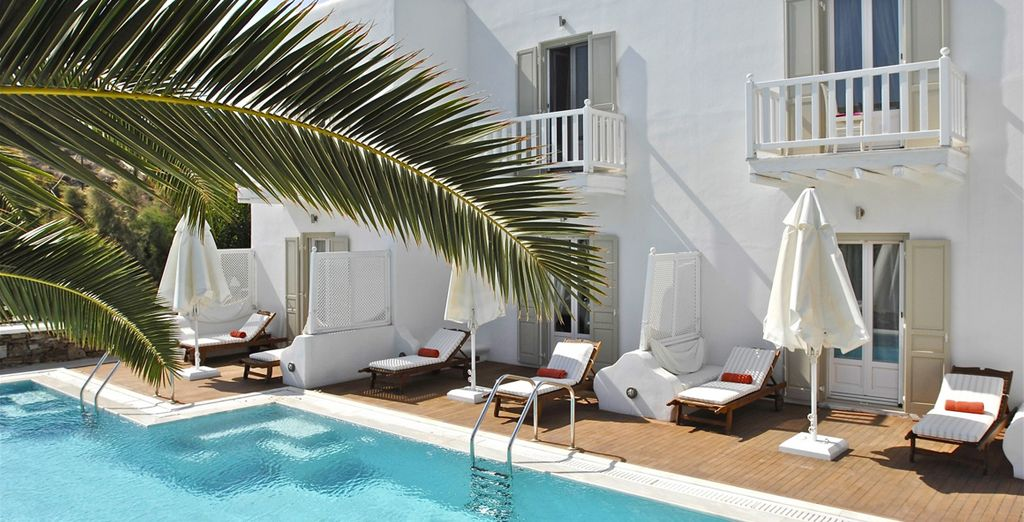 Soak up the sun at the 4-Star La Residence Suites